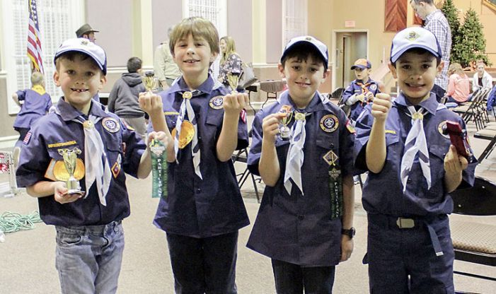 Cub Scout Pack 70 hosts 2nd annual Pinewood Derby