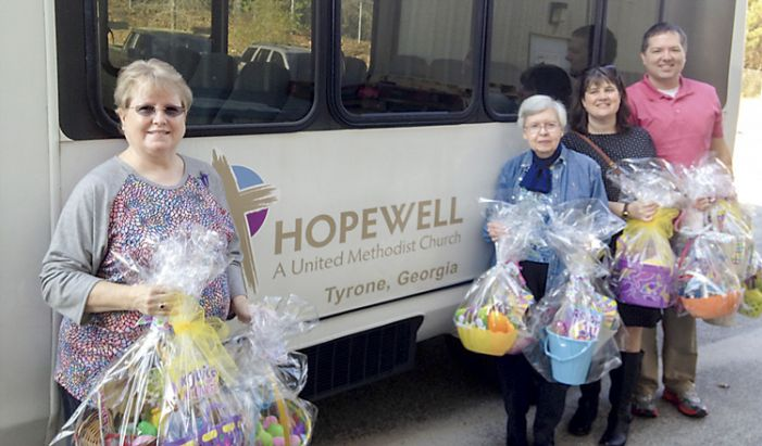 Easter baskets for Real Life Center