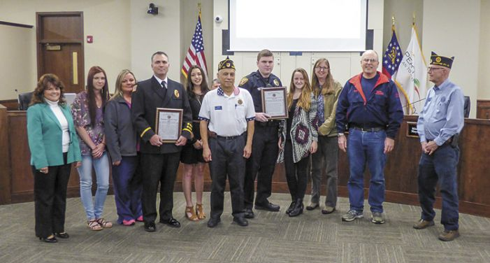 American Legion Post 50 honors PTC public safety staff