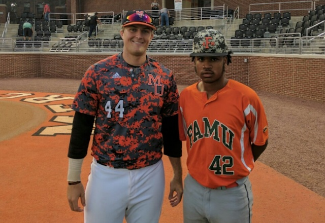 Fayette rivals meet on college diamond