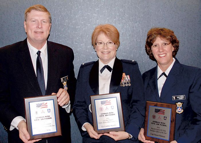 PTC Civil Air Patrol awards its officers