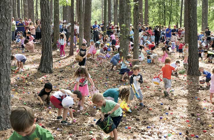 Peachtree City Easter Egg Hunt 2017.