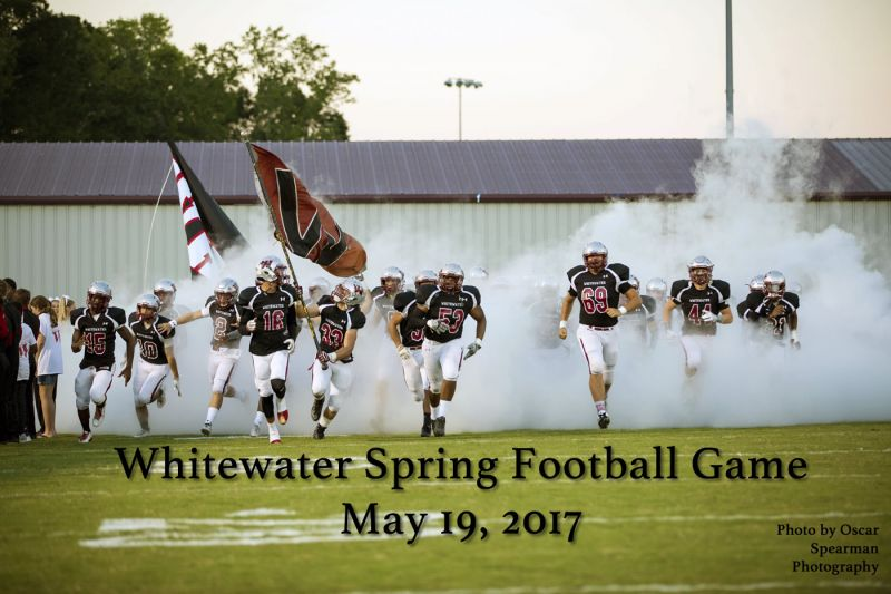 Whitewater High School Football / Photo by Oscar Spearman