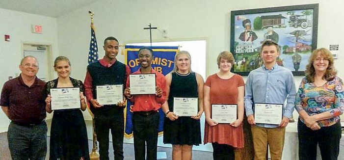 Senoia Optimists honor youth