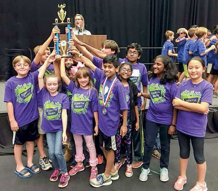 Kedron Elementary places at  the state Science Olympiad