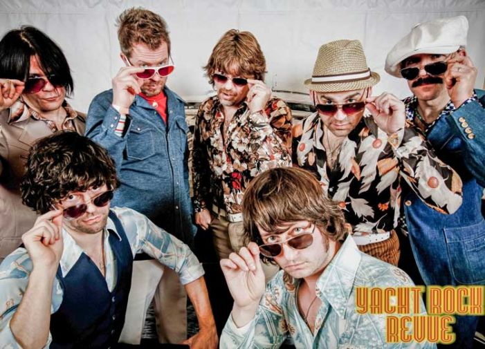 Yacht Rock Revue sails into The Fred Saturday