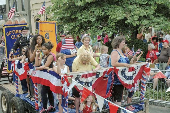 Head to Senoia for Memorial Day