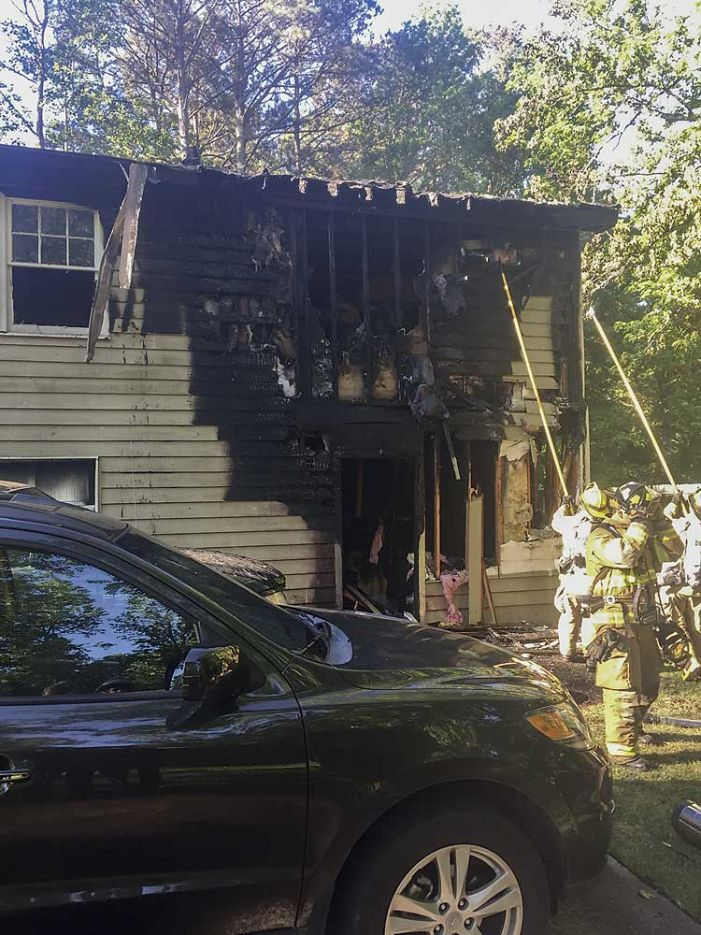 Tyrone fire damages home and vehicles