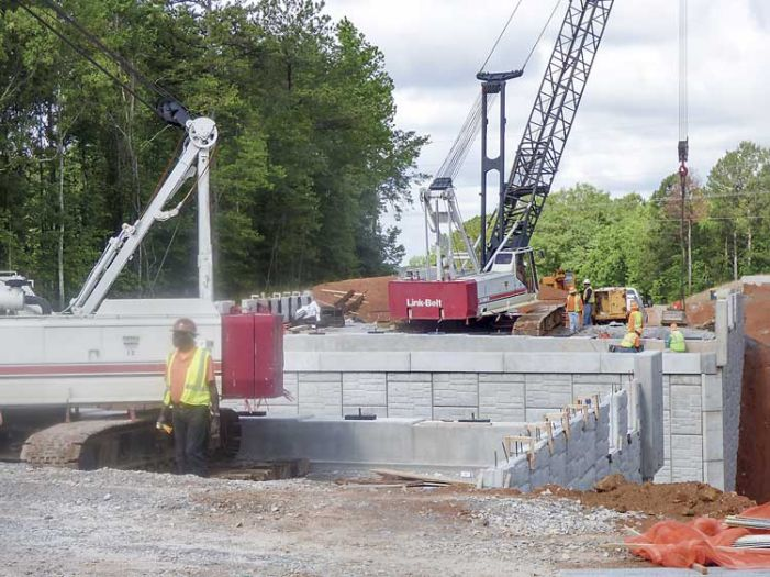 Parkway bridge to be finished in the fall