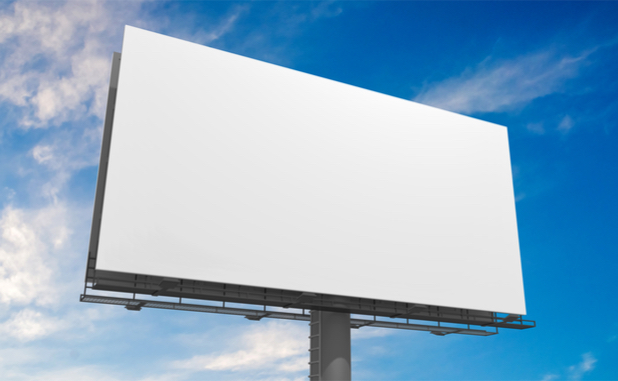 Oops! Senoia gets its first billboard; scramble ensues