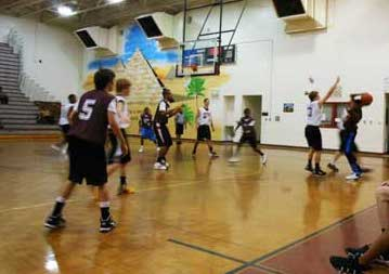Open gym at East Fayette in July