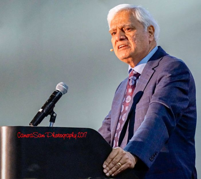 Dr. Ravi Zacharias is featured speaker at Fayette PRC Gala