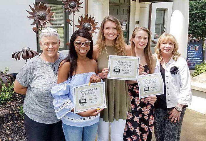 High school grads receive art scholarships