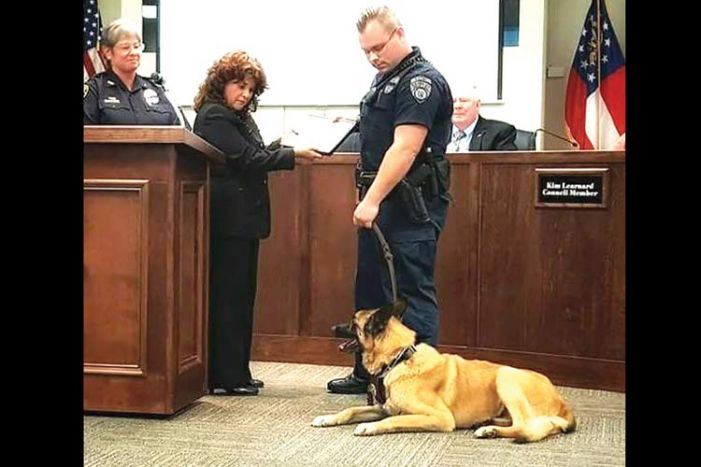 Heroic police K-9 passes away after seven years of service