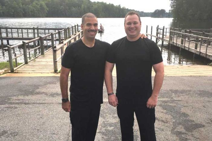 Cop rescues woman in Lake McIntosh