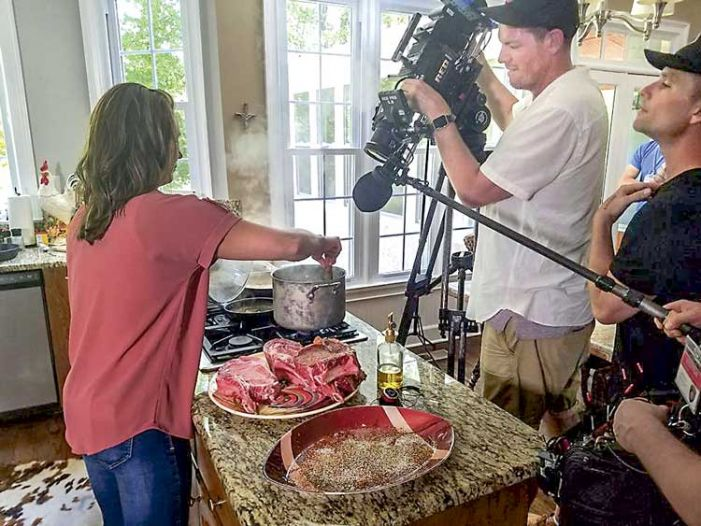 Peachtree City's cooking cops dish up TV 'Slaw and Order'