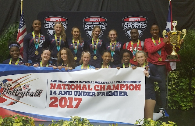 Volleyball club wins national title