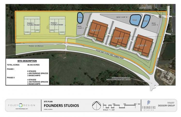 Planned Tyrone film complex doubles space to 200 acres