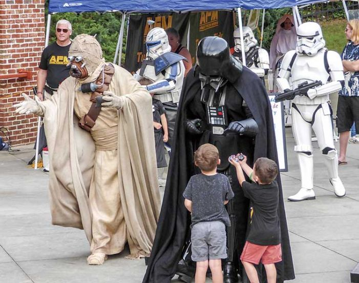 Star Wars invades Fayetteville's Southern Ground