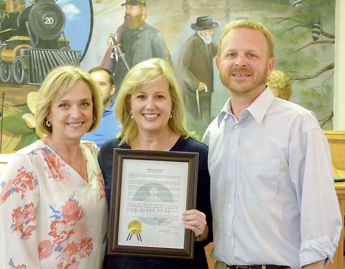 Burch Principal Spicer honored in Tyrone