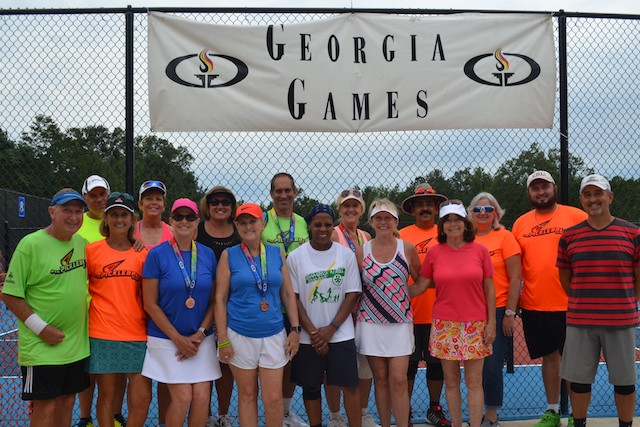 Pickleball club brings home 14 medals