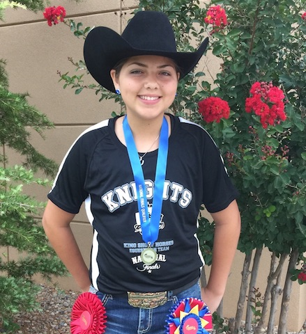 Rising Starr student is equestrian national champion