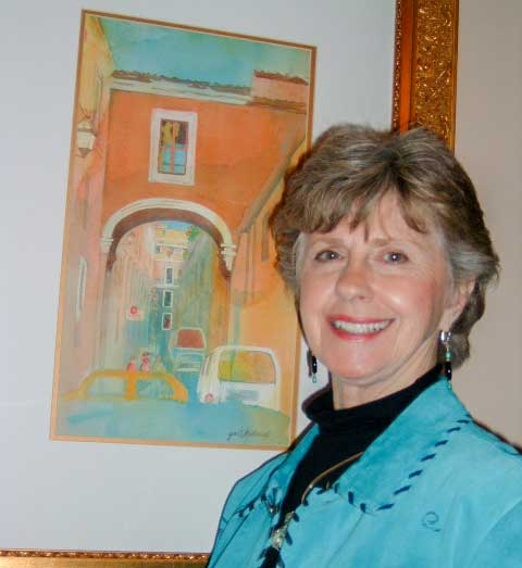 Heritage to offer watercolor classes taught by local artist