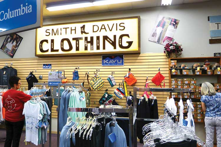 Smith & Davis offers the back-to-school brands kids want plus the convenience of local shopping