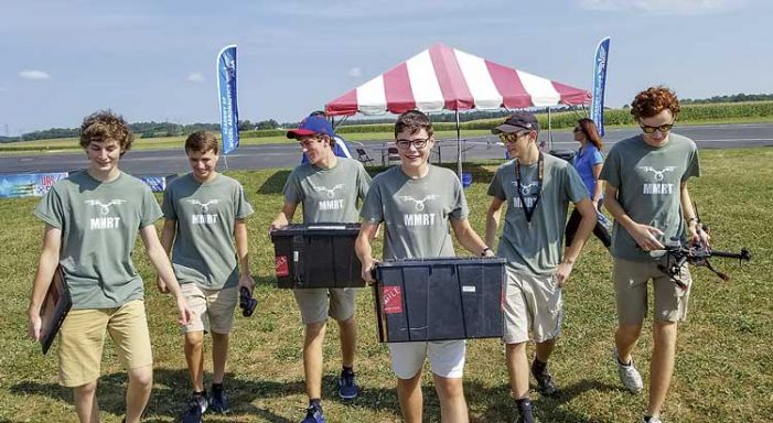 McIntosh robotics team walks away with national drone title
