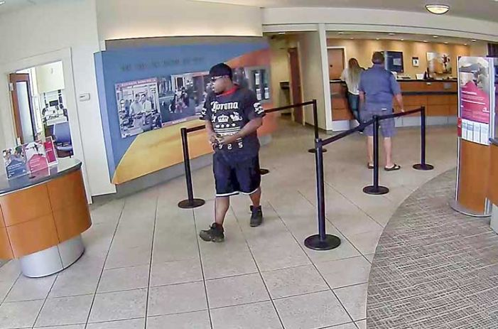 Bank robber strolls in, out of Sun Trust's Pavilion bank