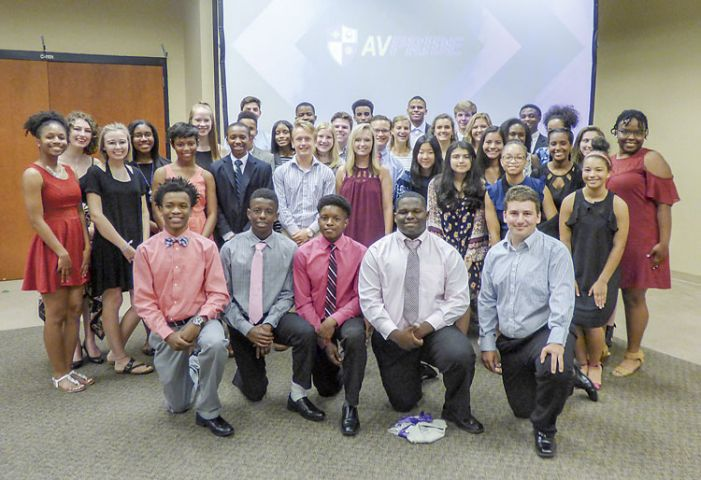 38 Fayette teens inducted into Youth Leaders PRIDE program