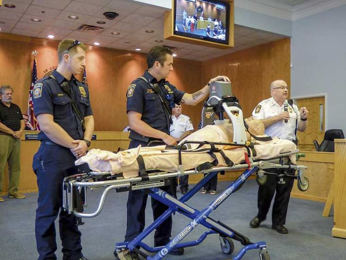 Fayette EMTs ready to use donated $15,000 CPR device
