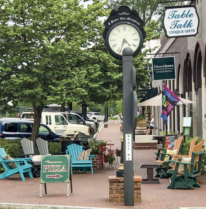 Senoia gets its clock back