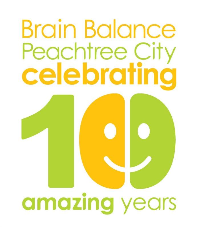 Brain-Balance-Peachtree-City-10 anniversay LOGO