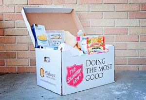 Midwest Food Bank in collaboration with Salvation Army are collecting food items for emergency relief boxes of food, enough shelf-stable food to feed a family of four for up to five days. You can make a monetary donation or drop off specific food/supply needs. For more information, go online to peachtree.midwestfoodbank.org. Photo/Midwest Food Bank.
