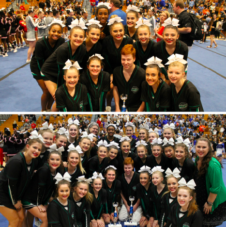 Cheer team wraps up perfect season