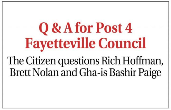Post 4 Council candidates look to Fayetteville's future
