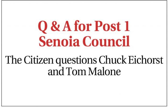 Senoia Post 1 candidates Eichorst, Malone talk about their visions for the city