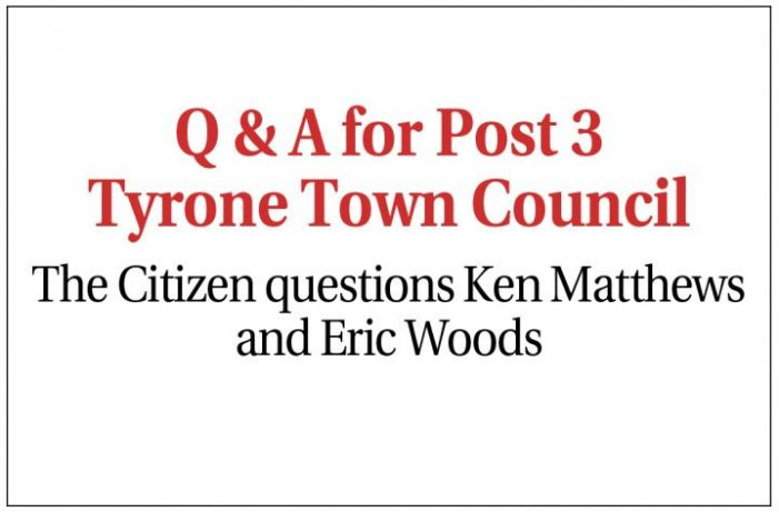 Tyrone's Post 3 candidates talk about sewer service, downtown growth