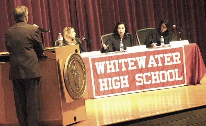 Ga. Court of Appeals travels to Whitewater H.S. for session