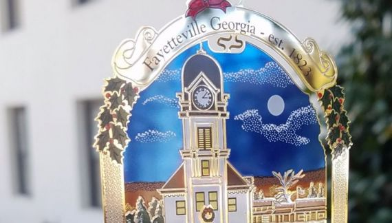 New  Fayetteville ornament unveiled