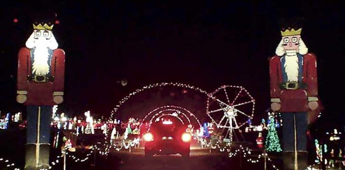 Fayette Christmas light show goes on national TV