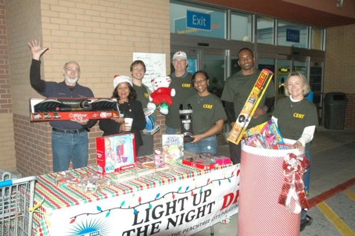 Peachtree City police ready for Christmas toy drive