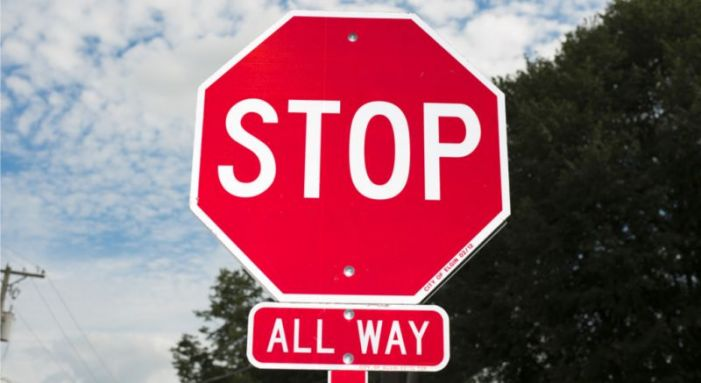 4-way stop sign goes up at crash-prone Goza Rd.-Antioch Rd. intersection