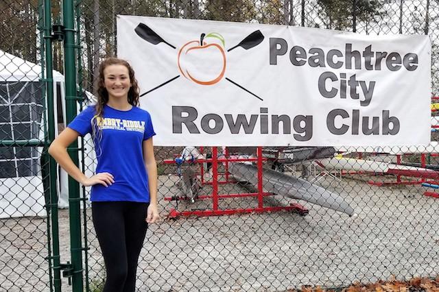 Rower earns scholarship