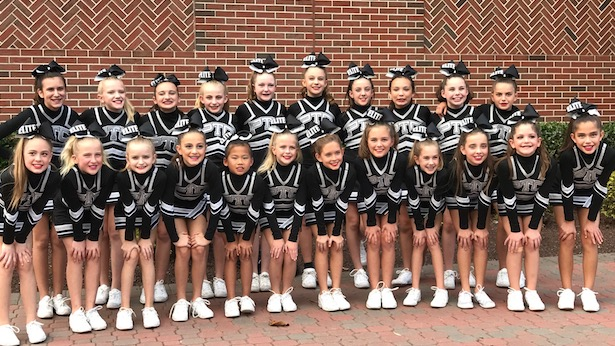 Winning year for cheer squad