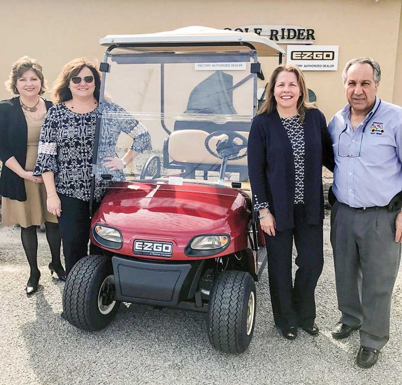 Golf Rider gives back to the community
