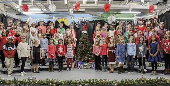 Braelinn students lift their voices in holiday songs