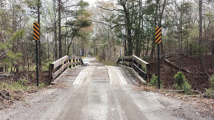 Fayette to lose one of last old wooden railroad bridges