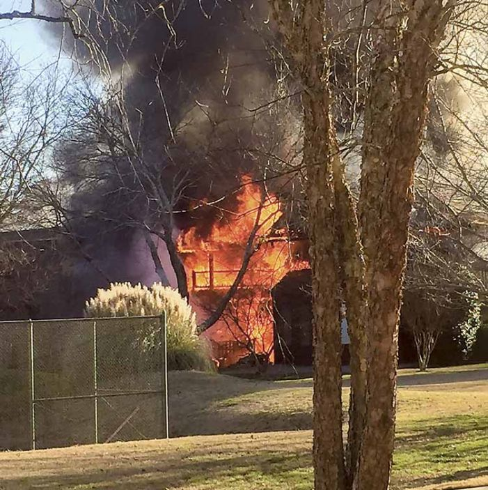 Two units destroyed, but no injuries, in PTC subdivision